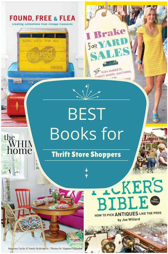 Best Books For Thrift Store Shoppers With Images Thrifting