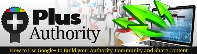 How to use Google+ to build your authority, community and share content.