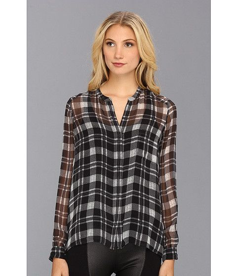 9a7e3a3e74fccd Brigid Plaid Silk Shirt from Joie #fashion #favorites #zappos Free shipping  BOTH ways