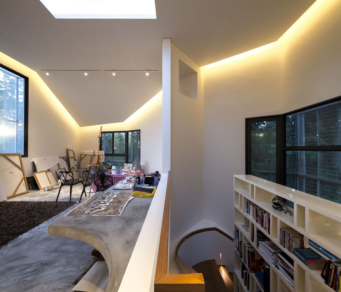 Thehut Home Office: Gallery Of Hut House / Pencil Office - 11