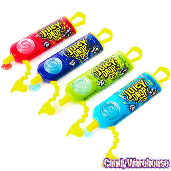 Juicy Drop Pops Candy 24 Piece Box Corner Snack Center