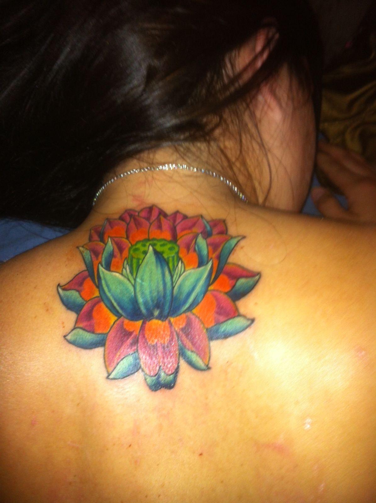 Thai lotus flower tattoo thai lotus flower pinterest flower thai lotus flower tattoo izmirmasajfo