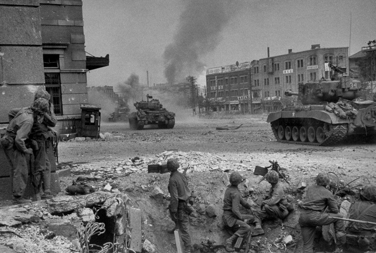 Fight for Seoul, Korean War 1950 LIFE in the Korean War