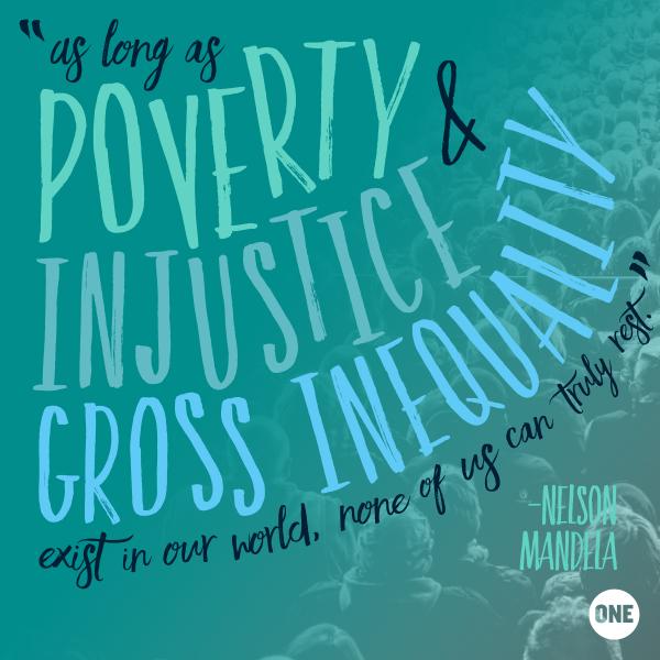 Poverty Quotes, Nelson Mandela