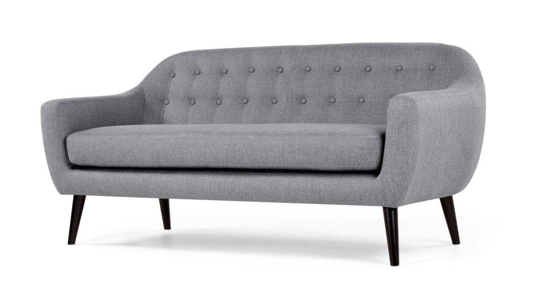 Made Sofa Grau In 2019 3 Sitzer Sofa Sofas Und Wohnzimmer Sessel