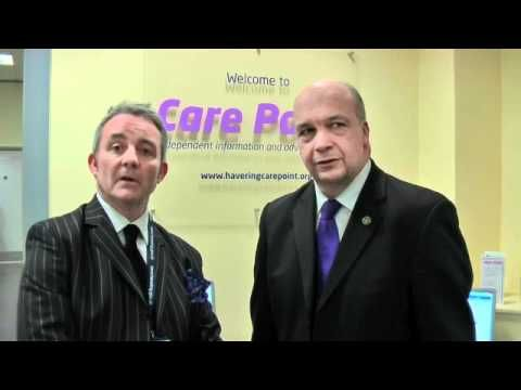 Michael White opening Care Point in Romford