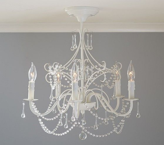 Chic Tailor Made Chandeliers That Shine With Elegance: Mia Flush Mount Chandelier