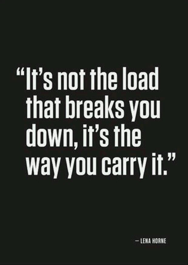 [Image] It's the way of carrying, that matters.