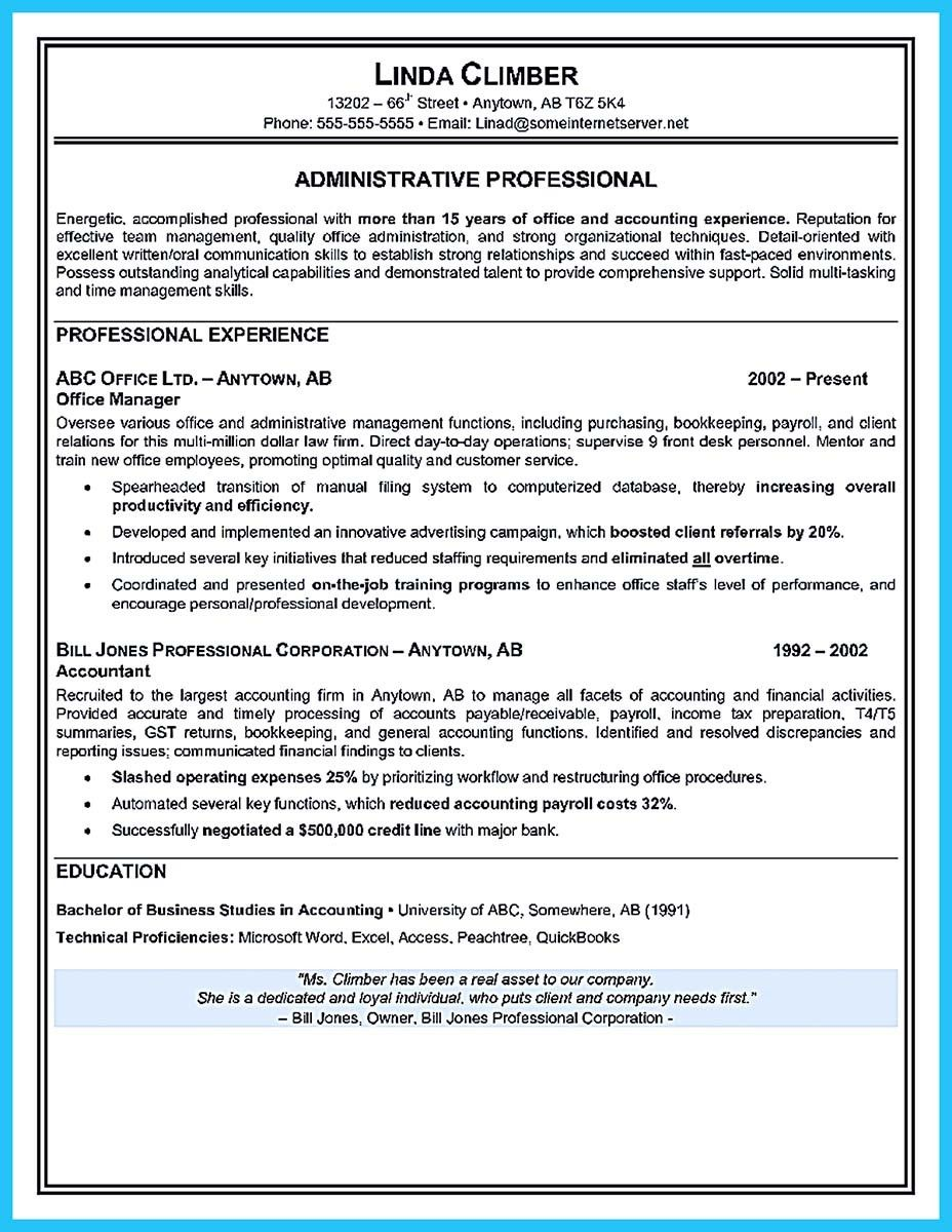 Administrative Secretary Resume Prepossessing Best Administrative Assistant Resume Sample To Get Job Soon  How To .