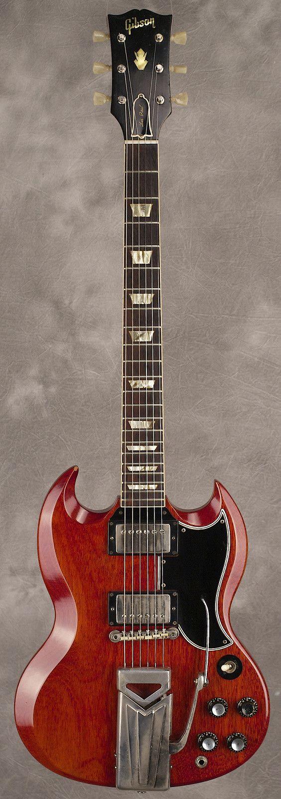 Gibson SG Standard Cherry (1962) #gibsonguitars