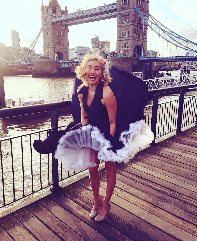 My Dress Blew Up Just Like Marilyn Monroe! Whee! By