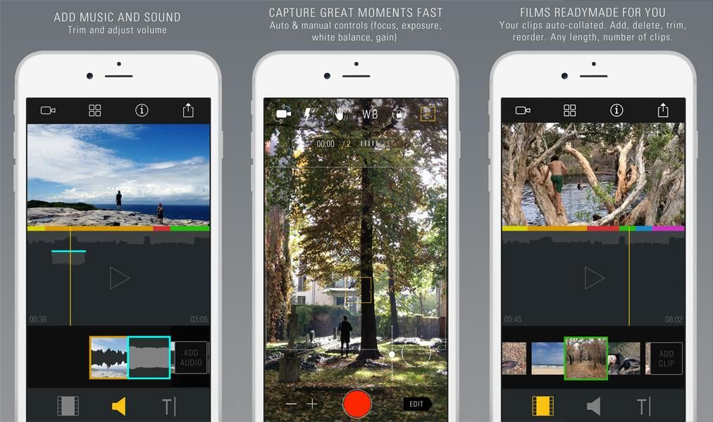 6 iPhone Apps for Budding Filmmakers Filmmaking, Iphone, App
