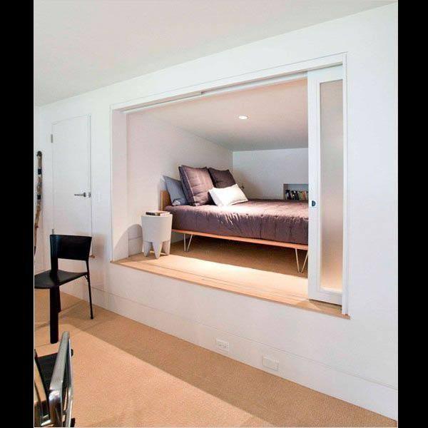 10 lits en hauteur pour petits espaces en 2019 chambre enfants maison lit et am nagement. Black Bedroom Furniture Sets. Home Design Ideas