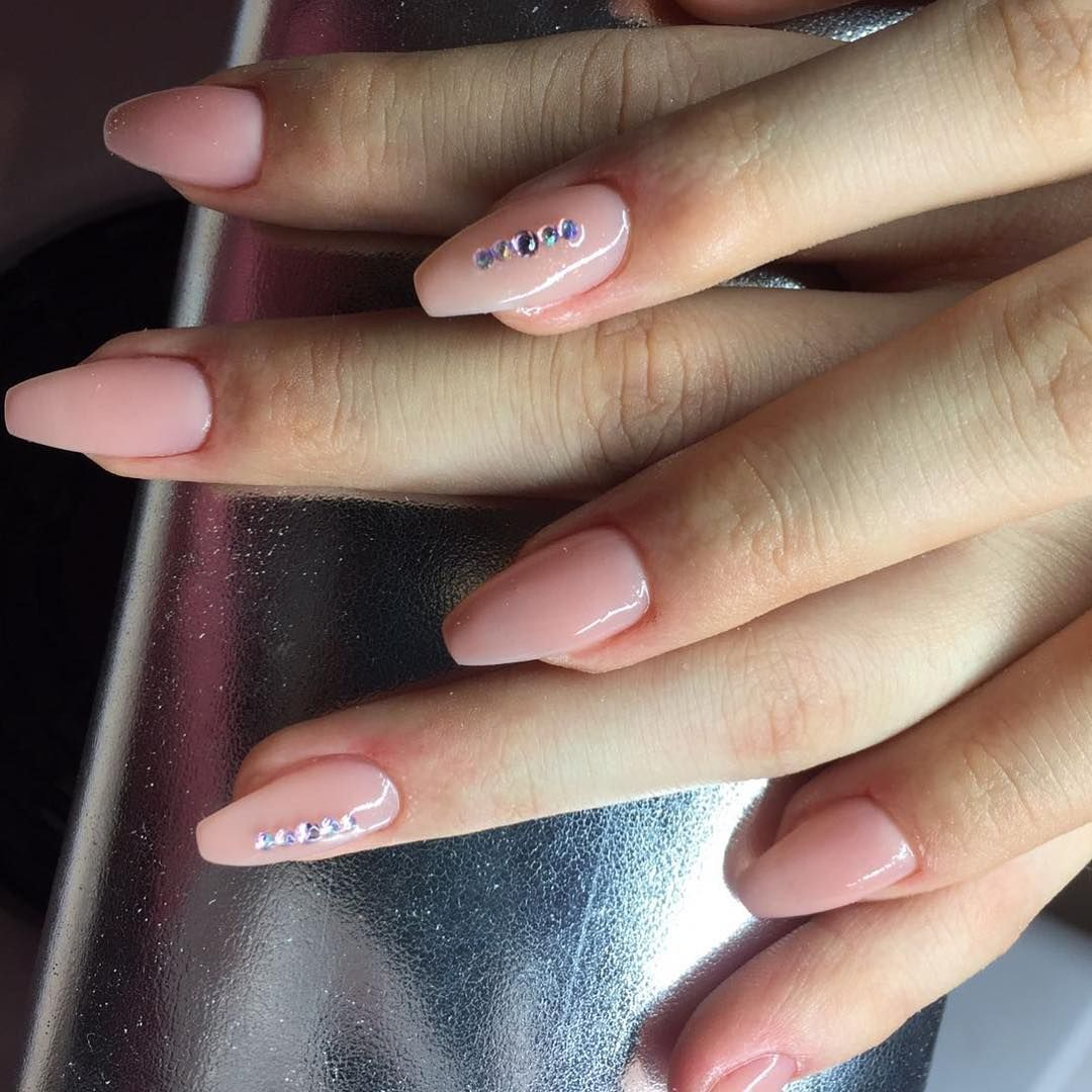 Modellage mit Versiegelungsgel rosa milchig #Instagram #Nailstagram ...