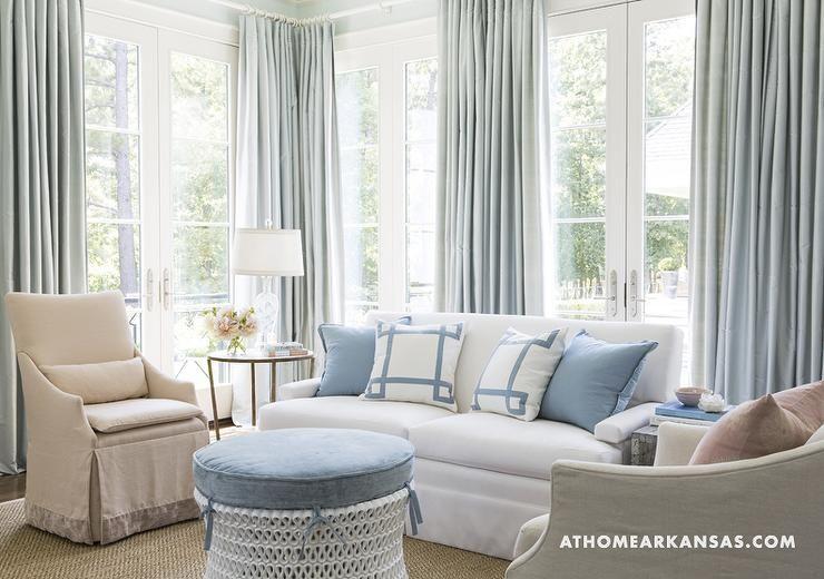 Blue Curtains Living Room, Light Blue Curtains Living Room