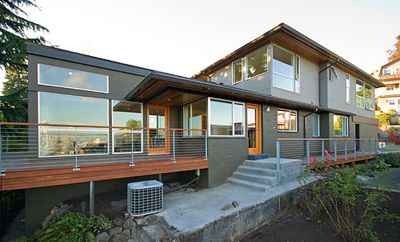 609 exterior new 1 find this pin and more on mid century modern exterior house colors - Mid Century Modern Home Exterior Paint Colors