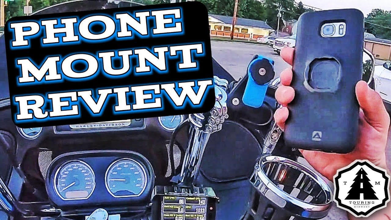 Quad Lock Motorcycle Mount Review Quad Phone Cases Electronic