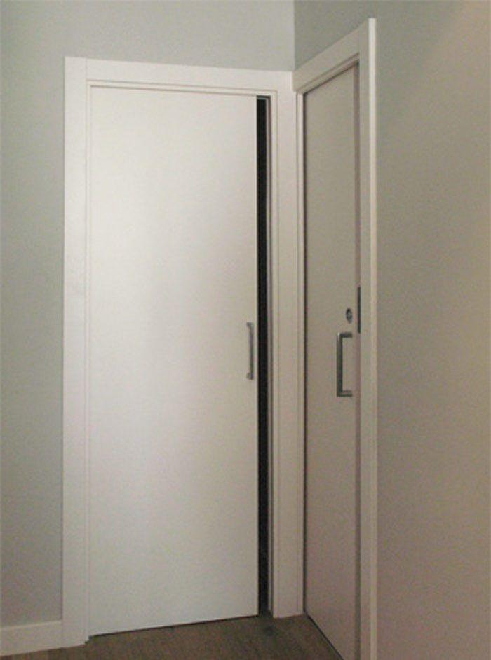 Puertas Correderas De Interior Lacadas En Blanco Basora