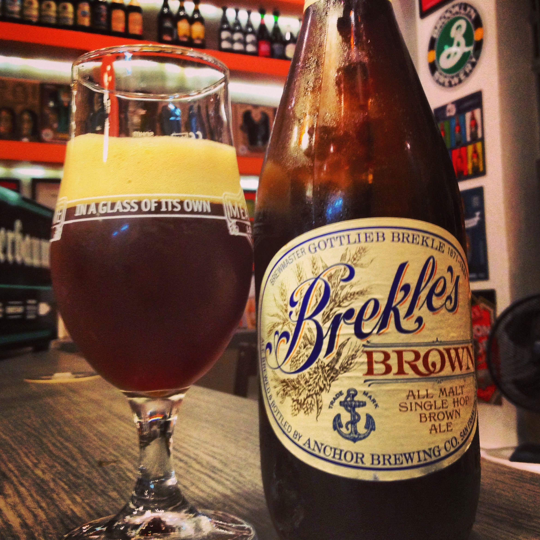 Cerveja do dia: Anchor Brekle's Brown (6,0% / São Francisco - Estados Unidos) #cervejadodia