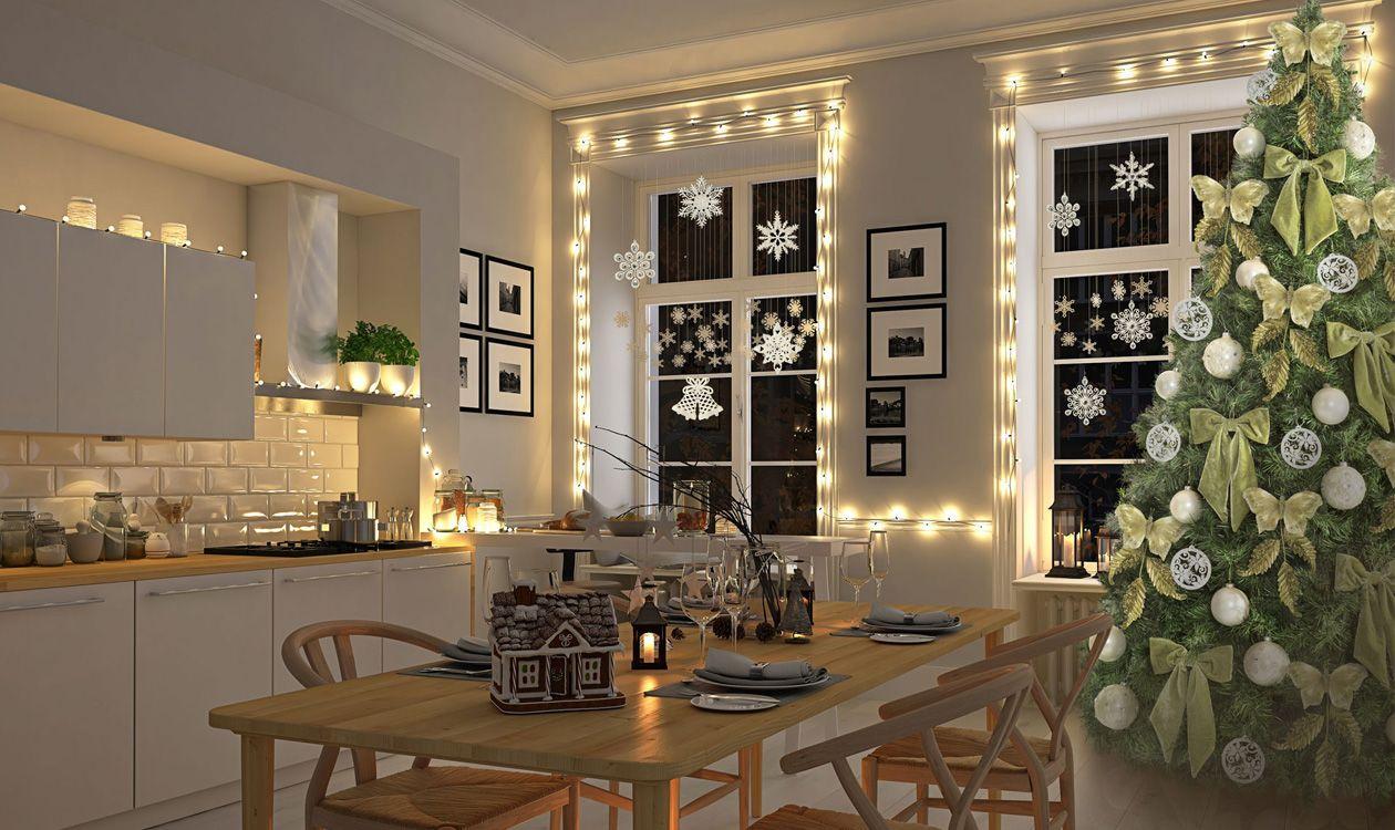 Dekoracja Swiateczna Na Okna Zimowe Ozdoby Okienne Home Decor Table Decorations Decor