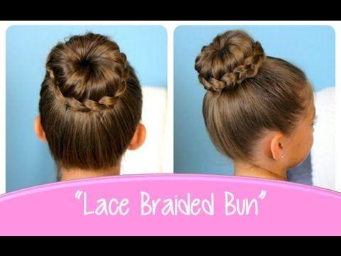 Gorgeous High bun With Braid