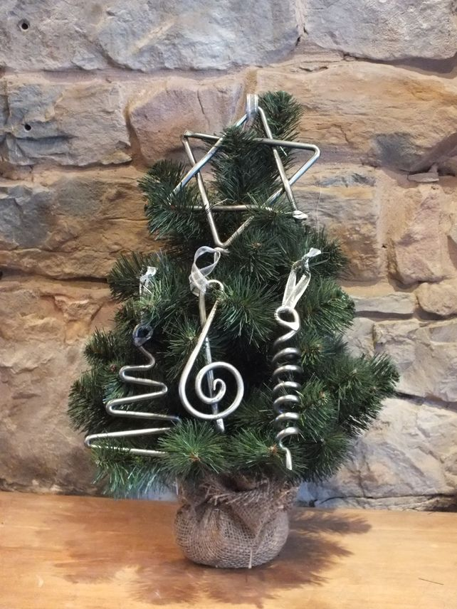 Hand Forged Christmas Decorations - Set of 4 £25.00 | Smithing ...