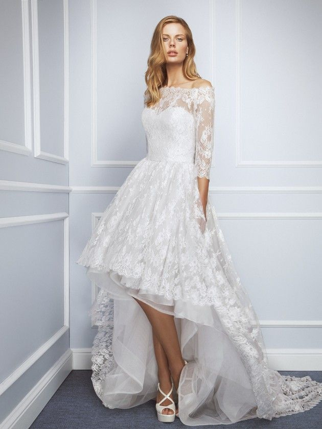 129f39891d Tipos de escote en los vestidos de novia - ¡Descúbrelos!