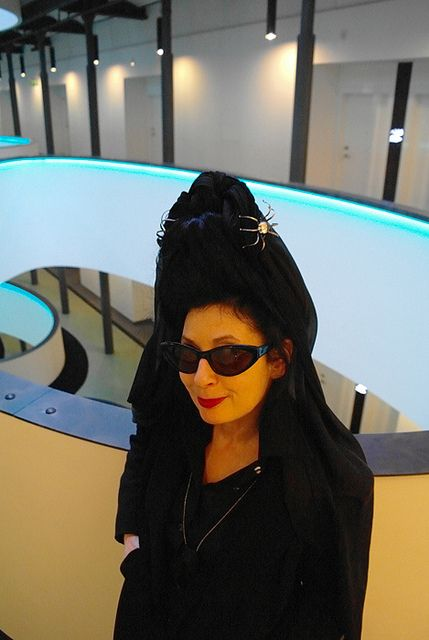 Diane Pernet by Konstantinos Menelaou by NABA Nuova Accademia di Belle Arti Milano, via Flickr
