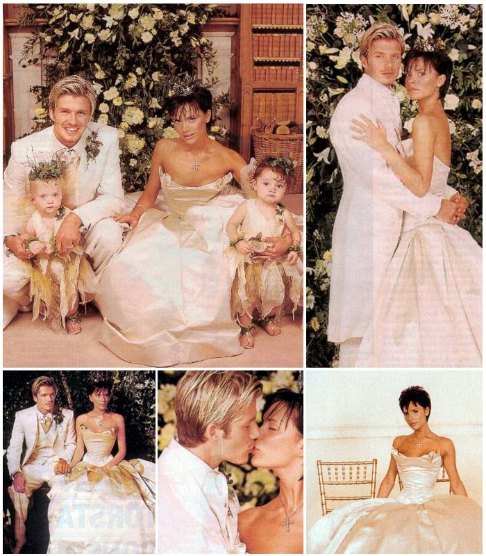 july 4 1999 wedding of david beckham and victoria adams