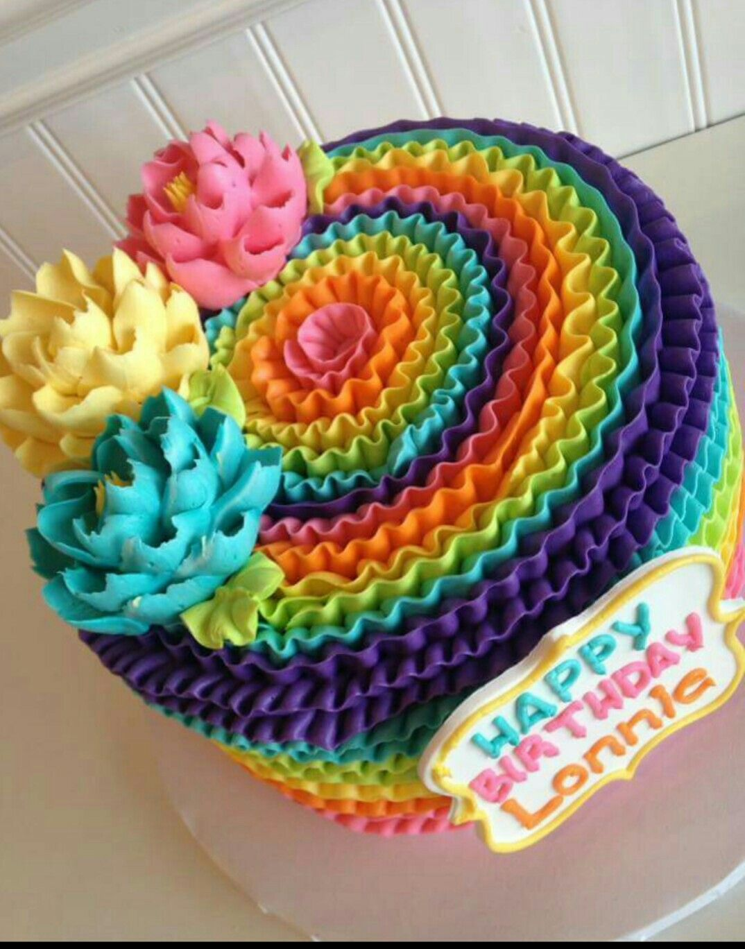 White flower cake shoppe colorful tie dye rainbow cakes white flower cake shoppe dhlflorist Image collections