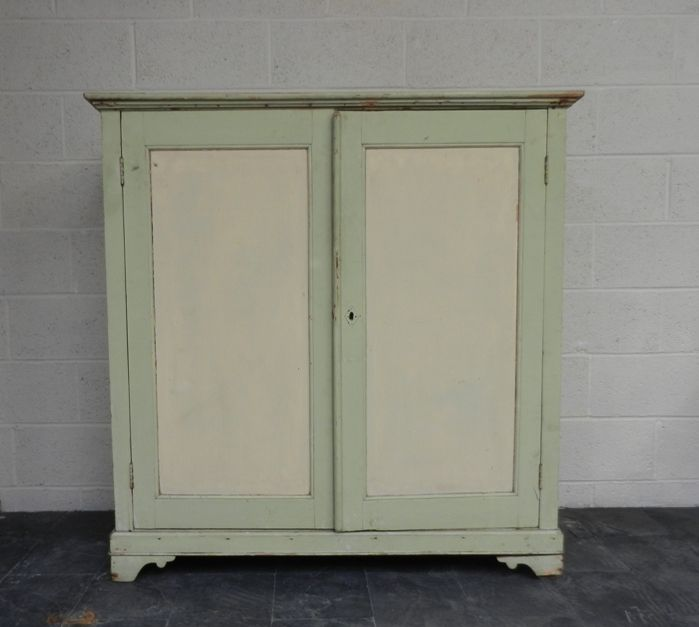 Painted Pine Linen Cupboard For Sale On SalvoWEB From