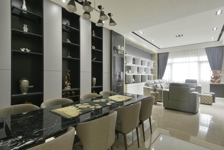 大器現代風 三代同堂幸福透天宅 in 2020   Home, Home decor, Shelving unit