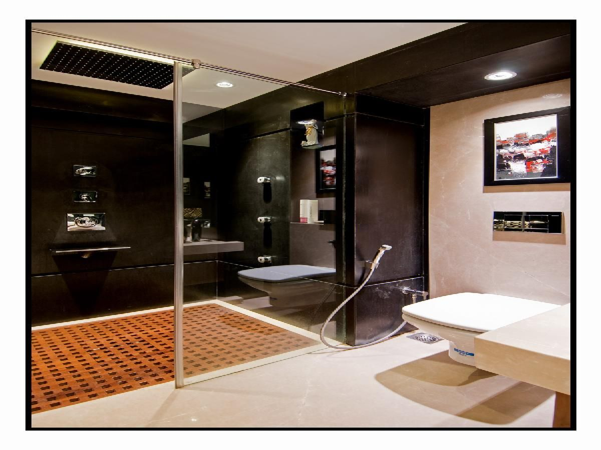 master bathroom with bath mat design by architect amit walavalkar adorn space concepts pvt - Bathroom Designs In Mumbai
