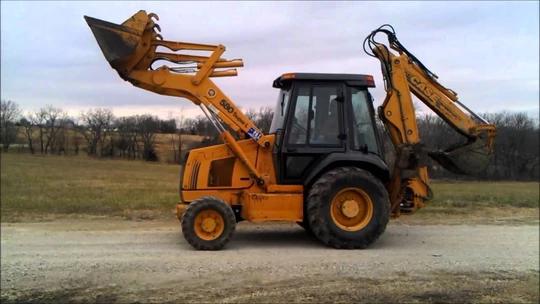Case 580L, 580, 590 Super L Tractor Backhoe Loader Service ... on