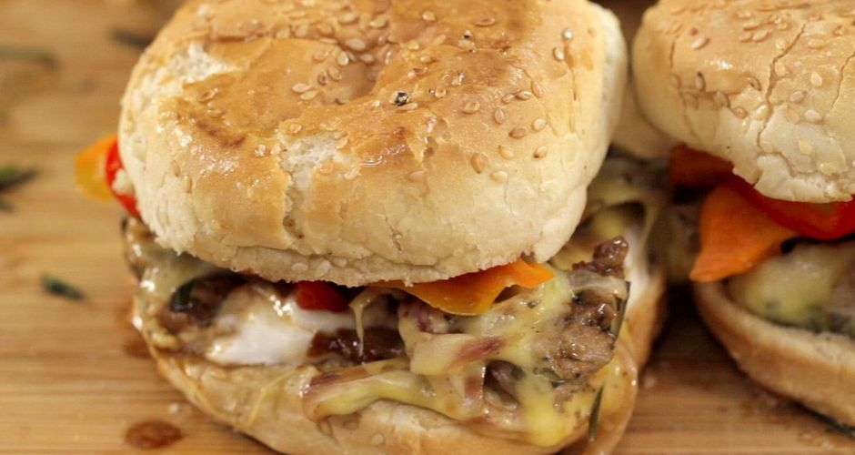 Light Burger!!   Try this light but juicy - full of flavors burger & you won't have to worry about them calories anymore!!