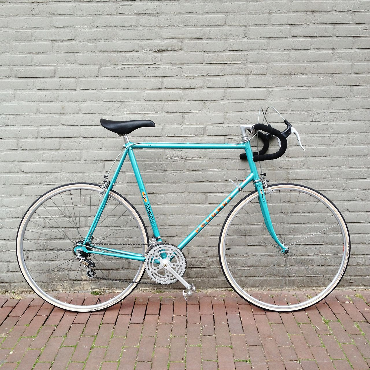 Peugeot Pbn10 64cm With A Nice Vintage San Marco Concor Leather Saddle Bike Details Beautiful Bike Bicycle