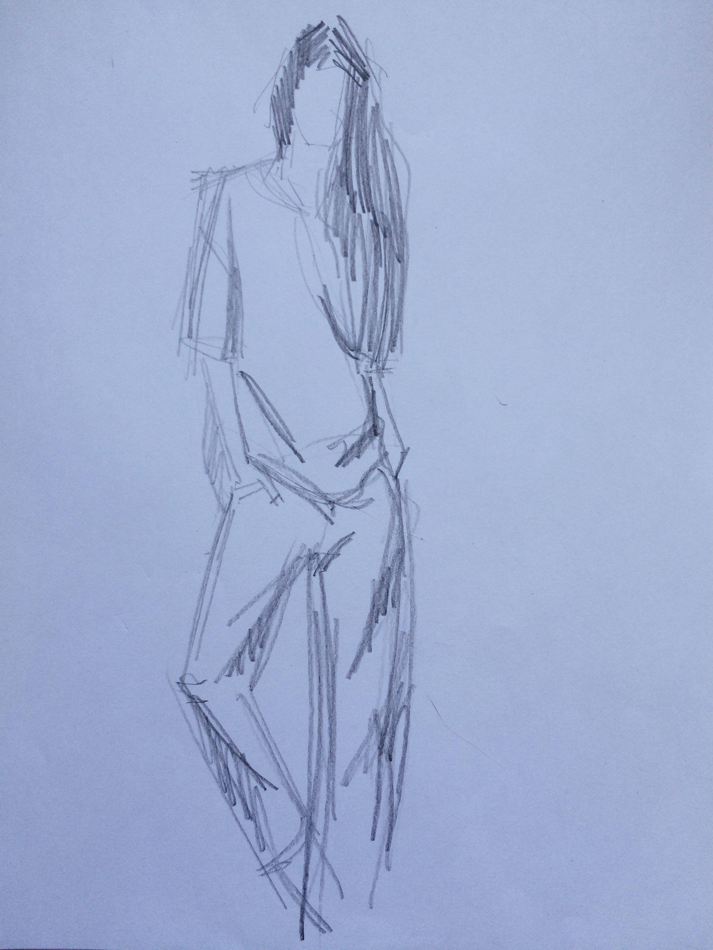 070c5922f93 Наброски Людей Карандашом Человека Быстрые Зарисовки Скетчи Академический  рисунок Одежды Фигура Графика С натуры Портрет Девушек