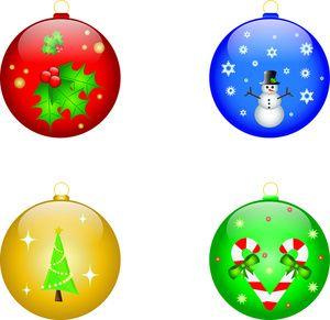 31+ Free clipart christmas ornaments ideas