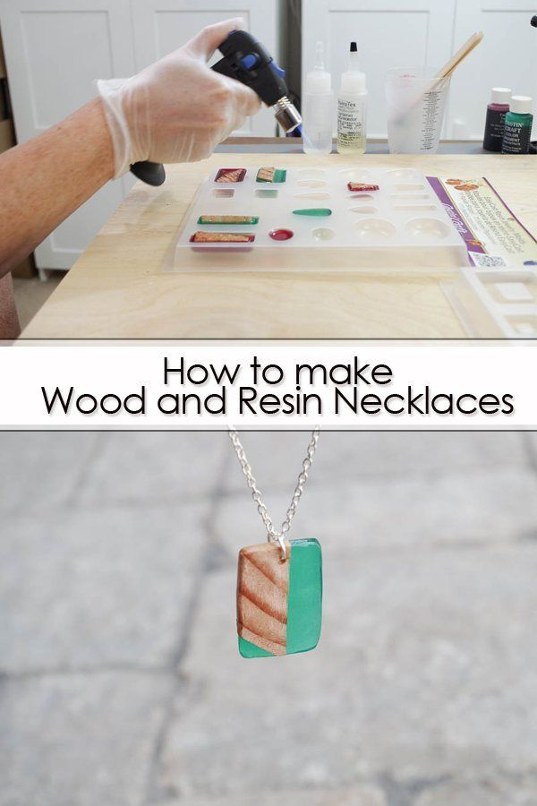 Photo of How to make necklaces from wood and resin #chains #making #jewelery …