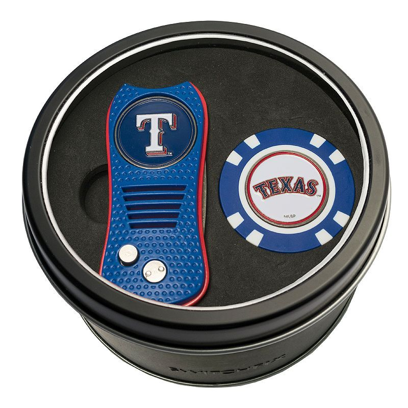 Team Golf Texas Rangers Switchfix Divot Tool & Golf Chip