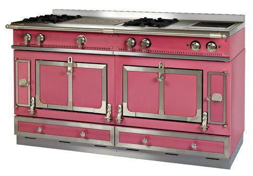 Château La Cornue Decofinder GdB Confort Moderne - Cuisiniere pyrolyse vitroceramique pour idees de deco de cuisine