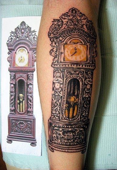 Grandfather Clock Tattoo Grandfather Clock Tattoo Clock Tattoo Grandfather Tattoo