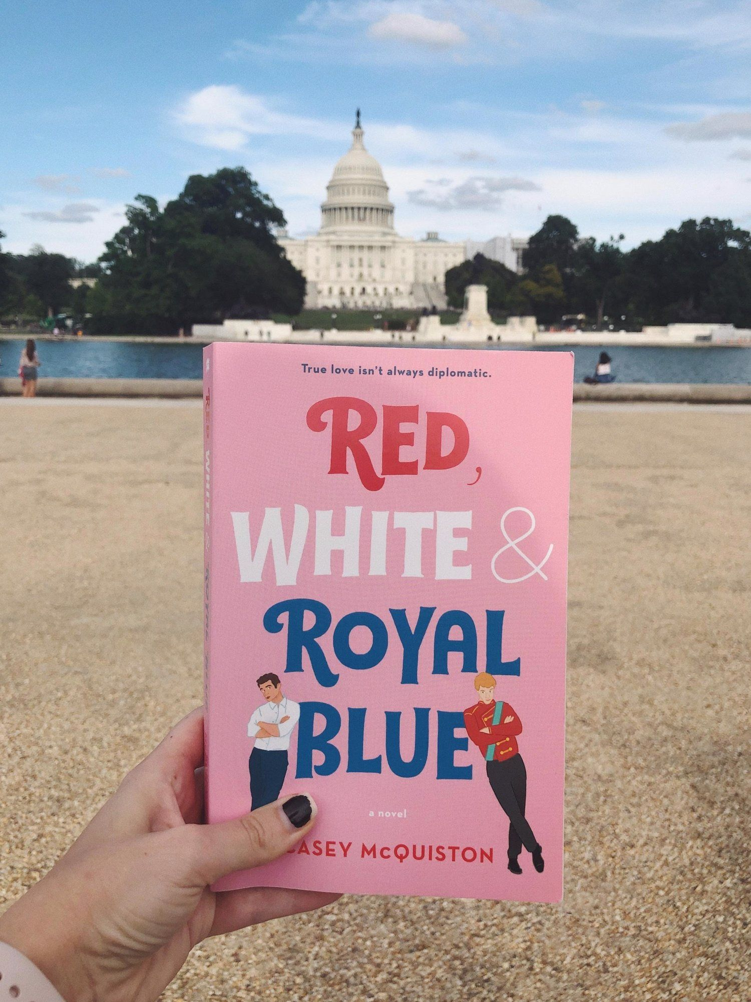 Review Red White Royal Blue With Images Royal Blue Blue