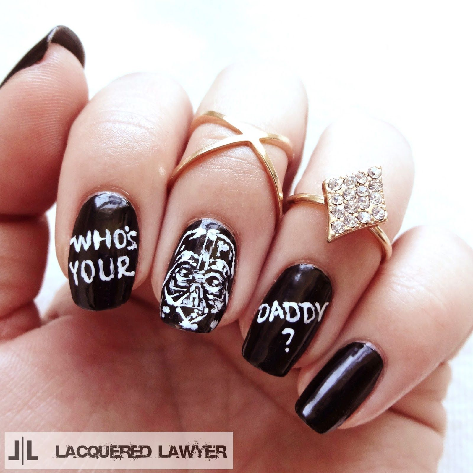 Who\'s Your Daddy? | Nail art blog, Darth vader and Star