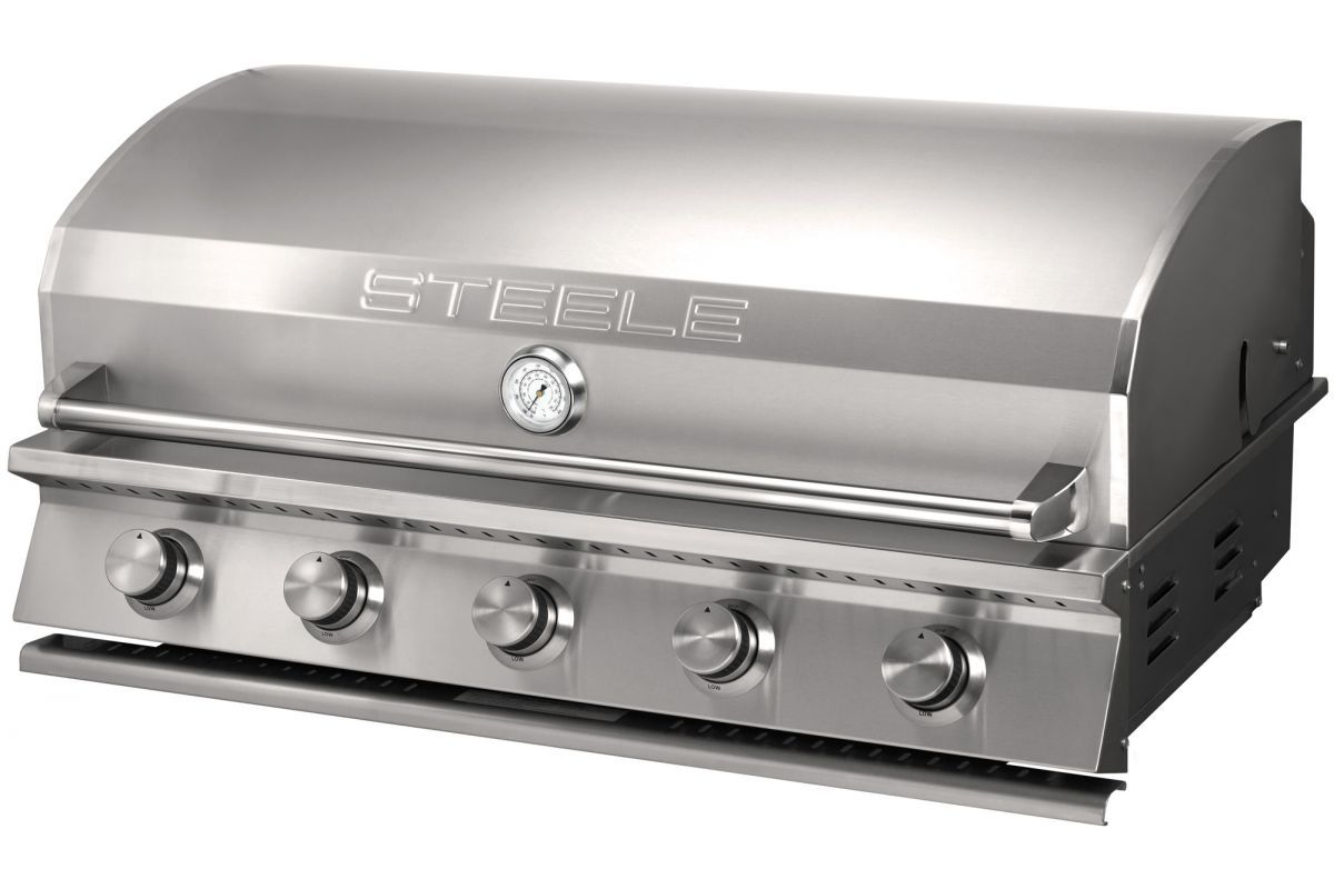 The Steele 40 Inch Built In Gas Grill Is Hands Down The Best Gas Grill For The Money With Over 889 Square Inches Of Outdoor Kitchen Design Diy Grill Grilling