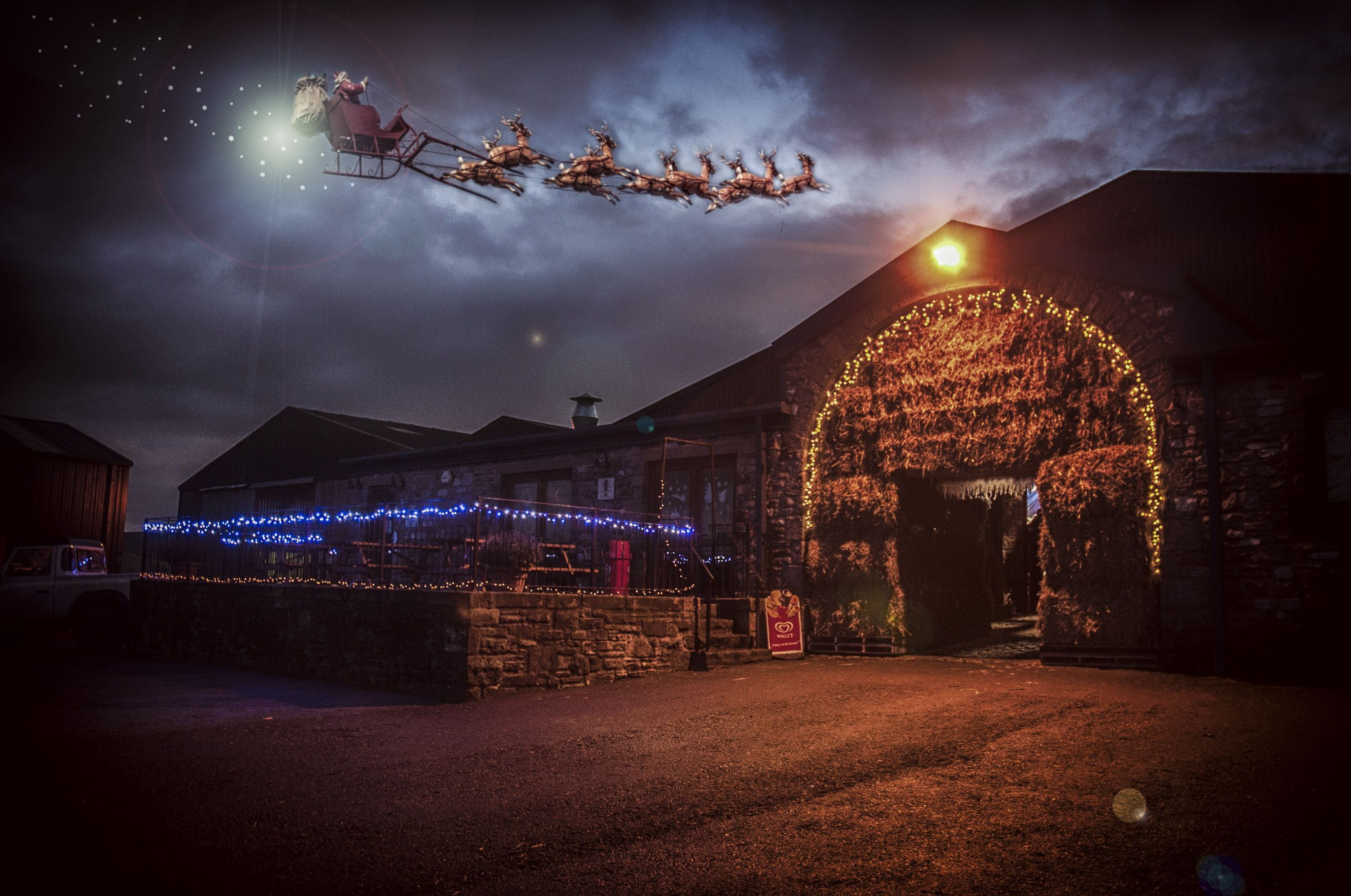 Christmas at Thornton Hall Farm Country Park