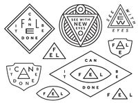 Keith Davis Young / FEL Labels and Patches