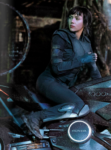 Scarlett Johansson In Upcoming Ghost In The Shell Scarlett Johansson Ghost Ghost In The Shell Scarlett Johansson