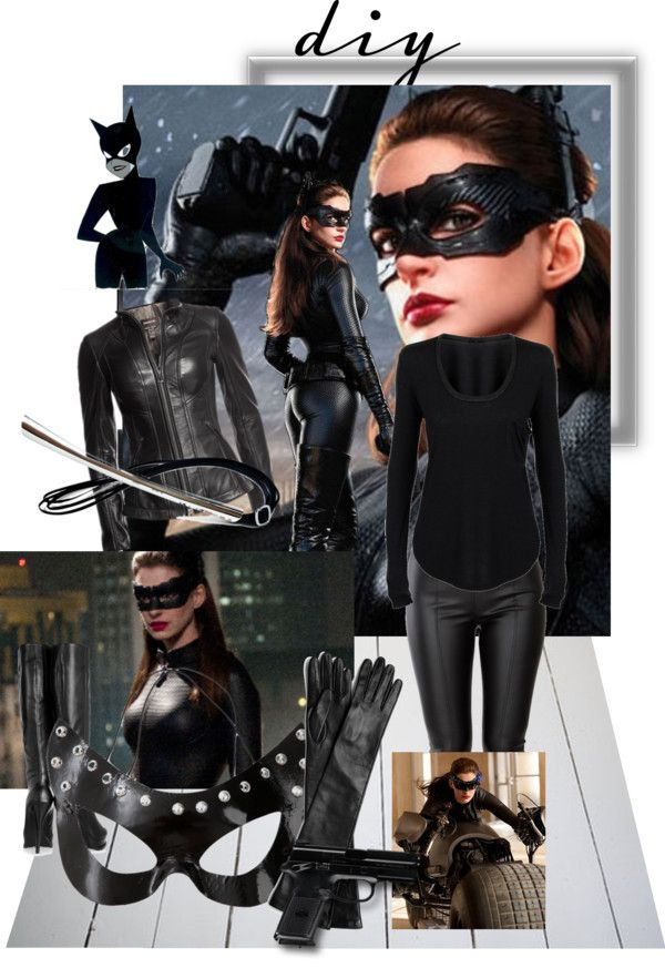 """""""Halloween DIY Catwoman"""" by livn4hm on Polyvore"""
