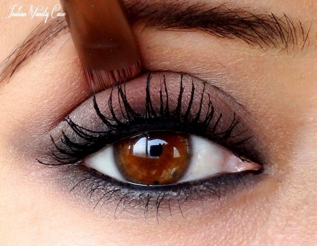Skin Makeup with Eyes Makeup Tutorial with Indian Vanity